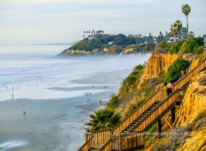 Encinitas-Beach-Stairs-Swamis-View