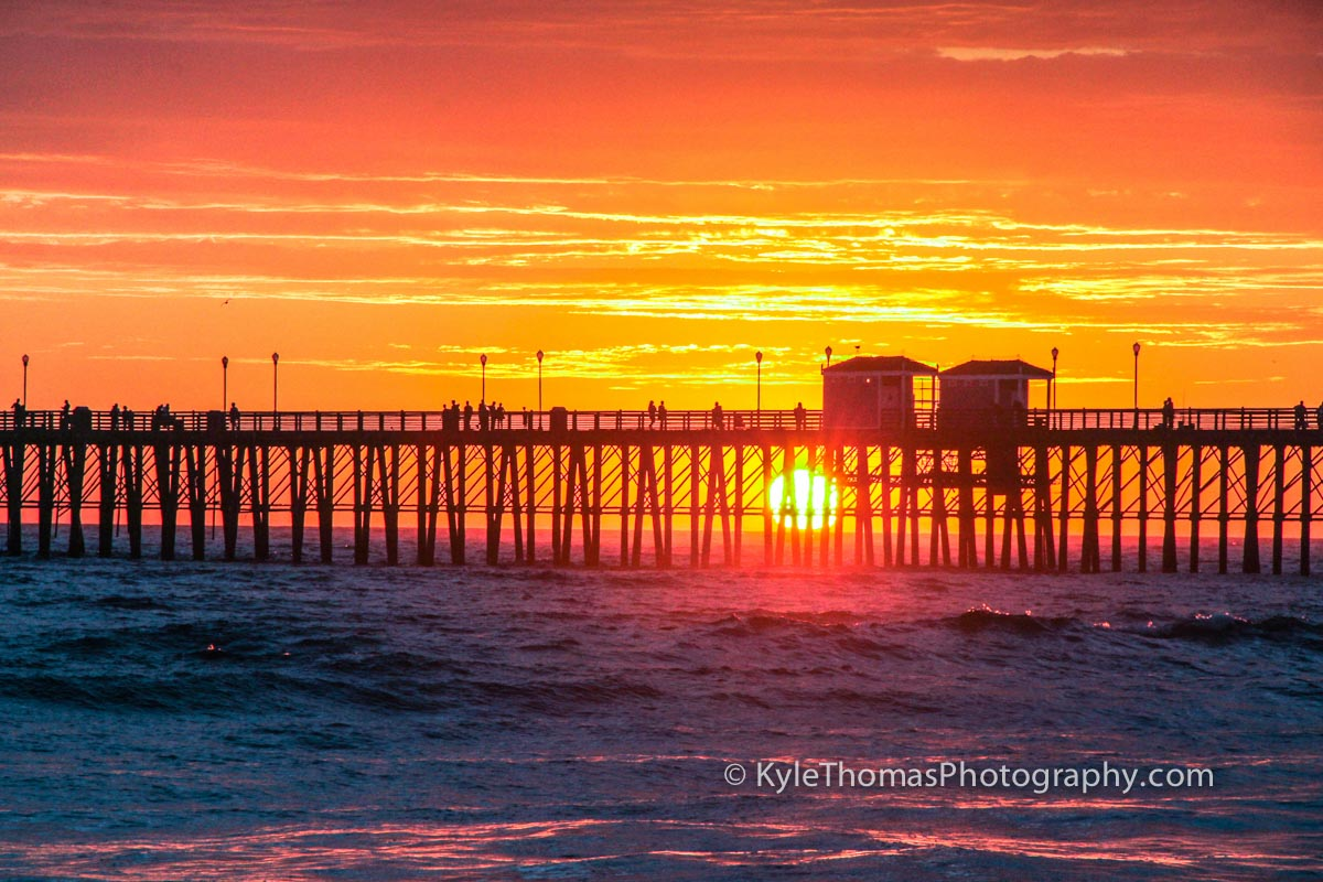 Oceanside-CA-Pier-Sunset-Kyle-Thomas-Photography