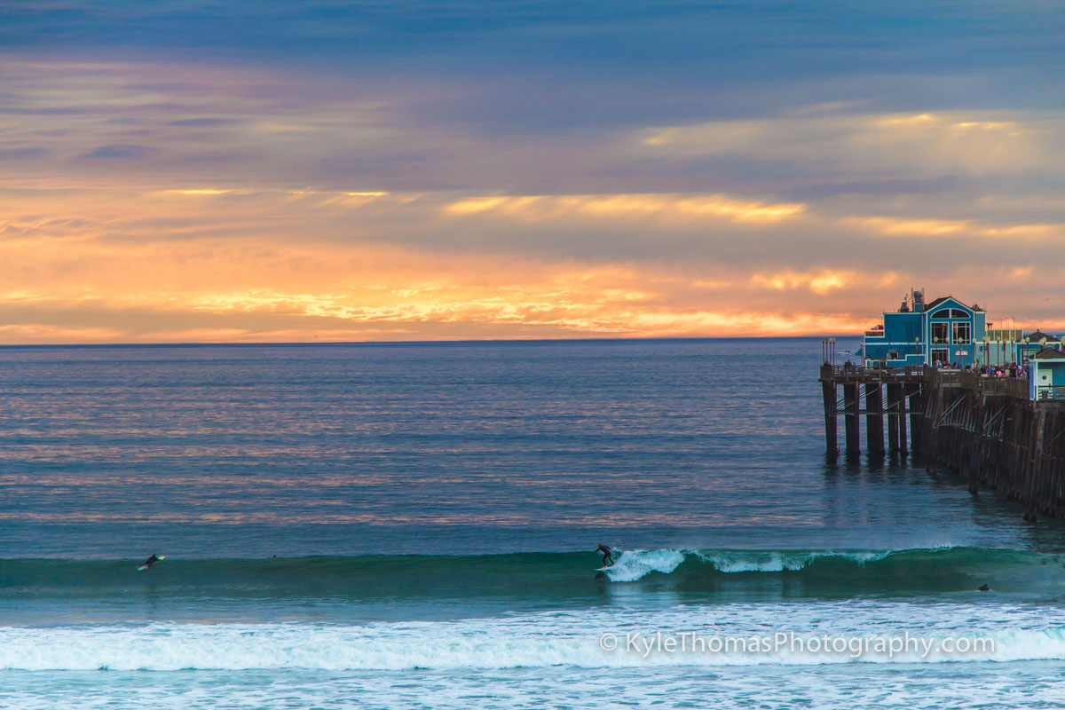 Beach-Pier-Sunset-Oceanside-CA-Kyle-Thomas