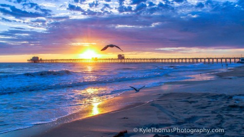 Oceanside-CA--Pier-Sunset