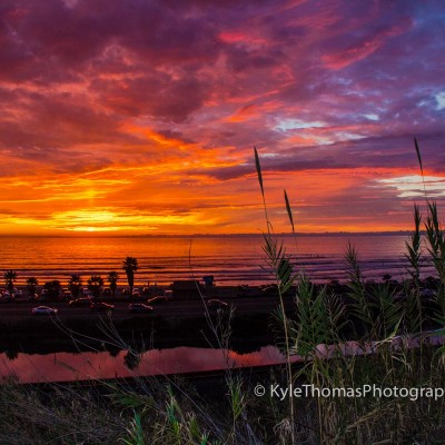Cardiff-Encinitas-CA-Beach-Ocean-Sunset-Kyle-Thomas-Photography