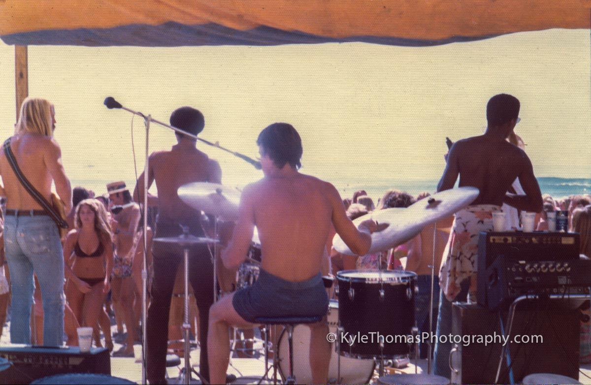 1975-Encinitas-Stonesteps-Surfing-Contest-Band-Bill-Mendenhall