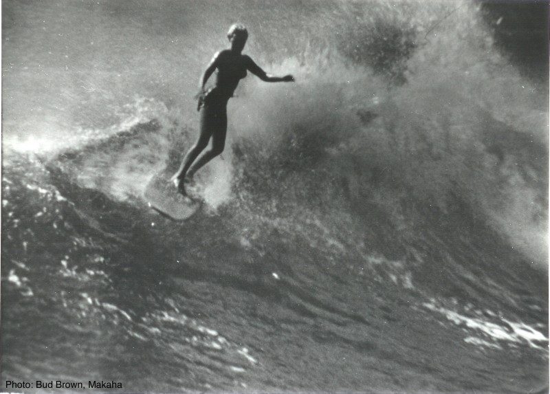1960 Makaha - Photo by Bud Brown