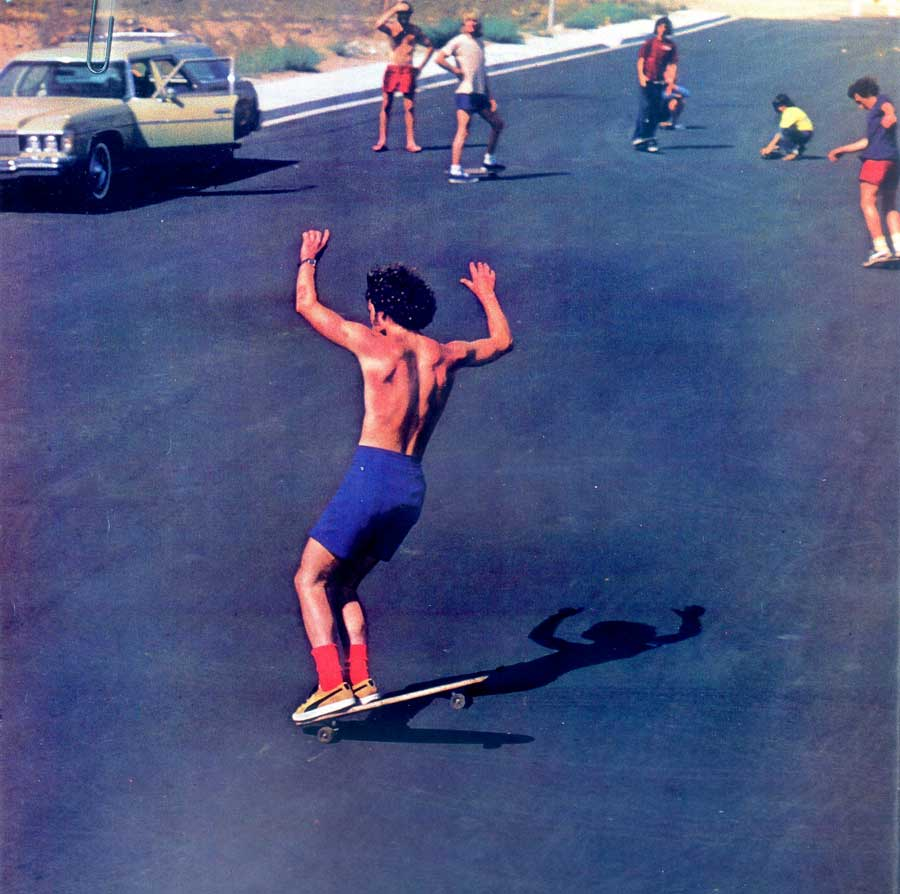 1975-Black Hill-La-Costa-CA -Bruce-Logan-practicing-for-world-championships.