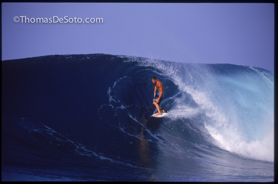 1995 - 17-Year-Old Andy Irons - Lances's Right - Mentawi's, Sumatra
